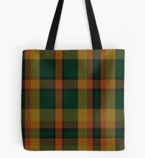 00336 Londonderry County District Tartan  Tote Bag