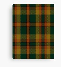 00336 Londonderry County District Tartan  Canvas Print