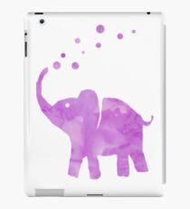 purple elephant iPad Case/Skin