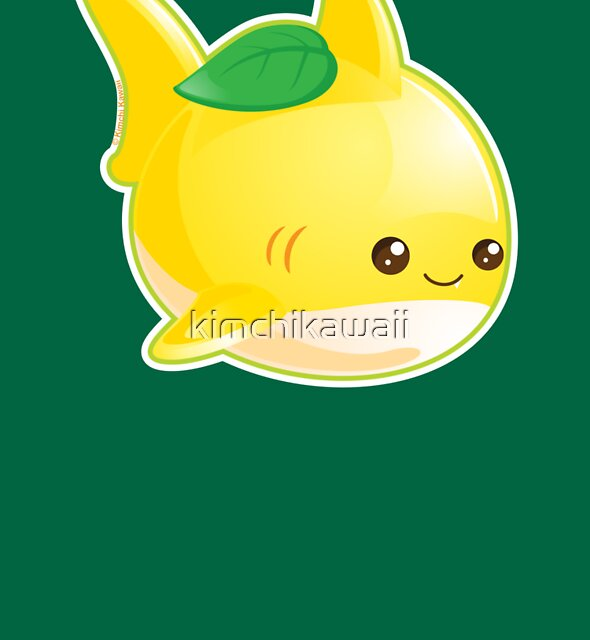 Cute Pun Lemon Shark by kimchikawaii