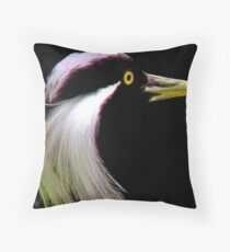 *DEMOISELLE CRANE* Throw Pillow