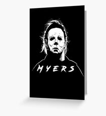 Haddonfield Boogeyman - Michael Myers Greeting Card