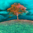 A solitary tree  by Valerie Anne Kelly
