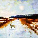 Broadland walk  by Valerie Anne Kelly