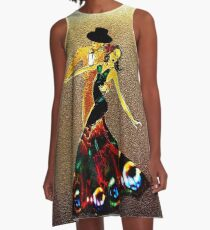 La Fiesta  A-Line Dress