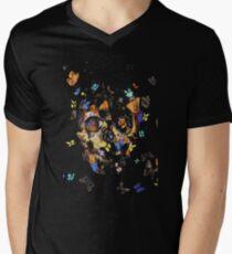 Alexander mcqueen skull Men's V-Neck T-Shirt