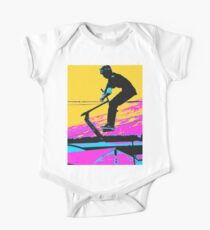 Free Falling - Stunt Scooter Rider Kids Clothes