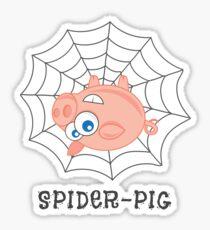 Spider-Pig Sticker