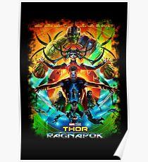 "Thor ""Ragnarok"" Poster"