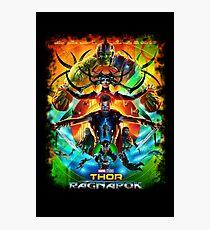 "Thor ""Ragnarok"" Photographic Print"