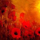 Poppy heaven  by Valerie Anne Kelly