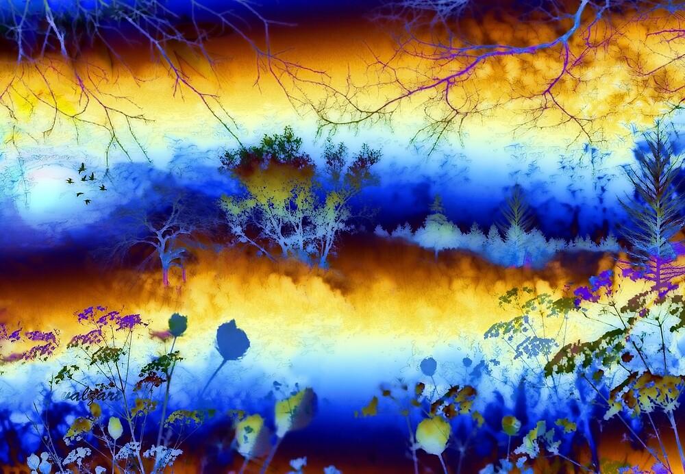 My blue heaven  by Valerie Anne Kelly