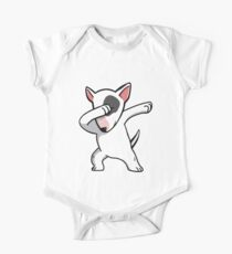 Funny Dabbing English Bull Terrier One Piece - Short Sleeve