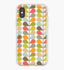Retro 60er Jahre Midcentury Modern Pattern iPhone-Hülle & Cover