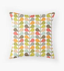 Retro 60s Midcentury Modern Pattern Throw Pillow