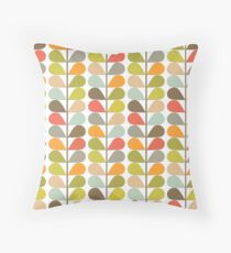 Retro 60s Midcentury Modern Pattern Throw Pillow