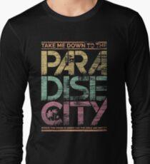 Camiseta de manga larga Ciudad Paraiso