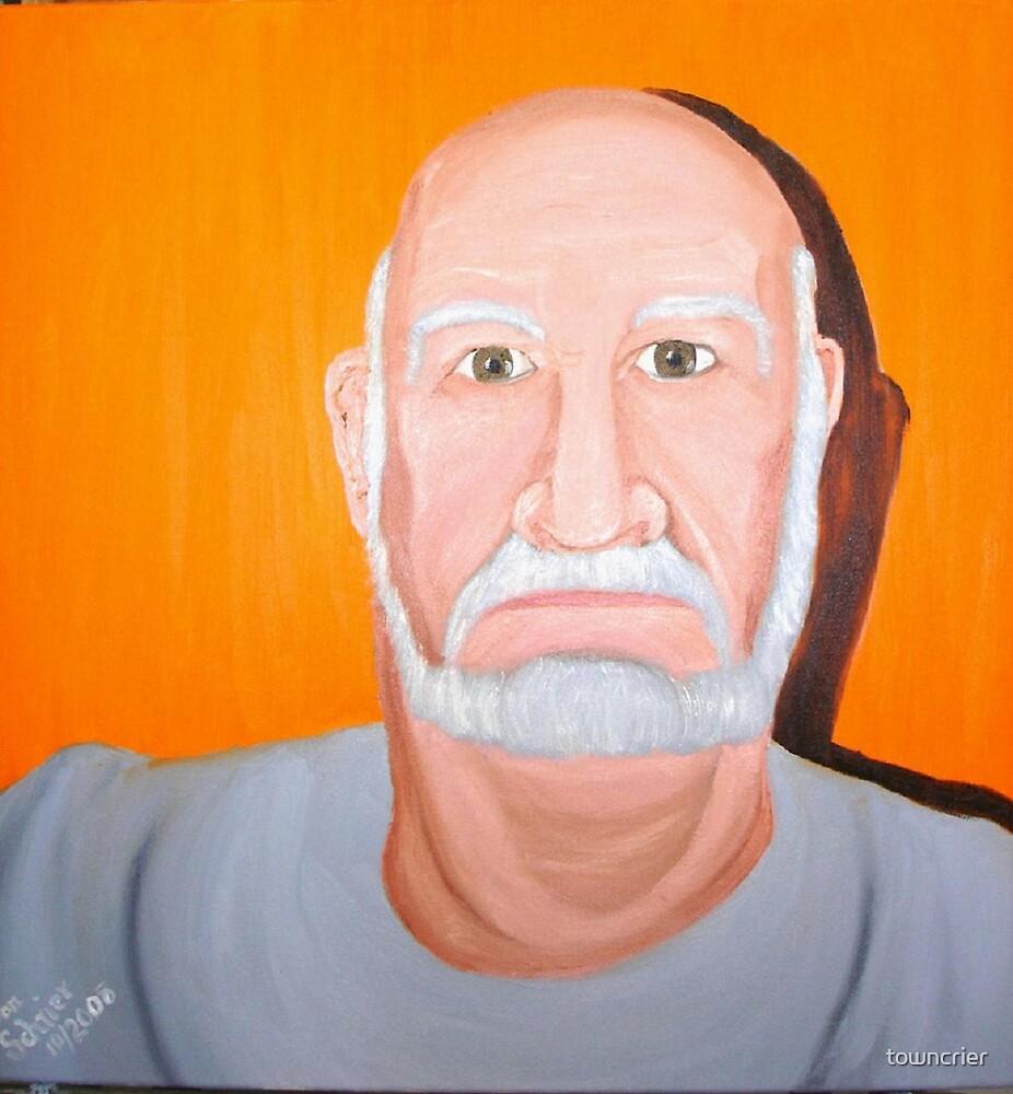 Don Schrier Self Portrait by towncrier