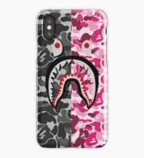 Bape Shark Black and Pink iPhone Case/Skin