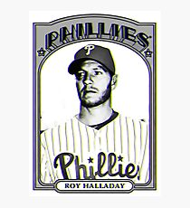 P Always For Roy Halladay Photographic Print