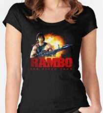 rambo Women's Fitted Scoop T-Shirt