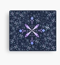 flakes Canvas Print