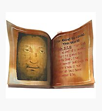 Holy Face of Manoppello Photographic Print