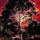Fractalius Tree by Virginia N. Fred