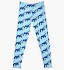 Legging Ballena azul
