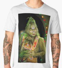 Funny Grinch Men's Premium T-Shirt