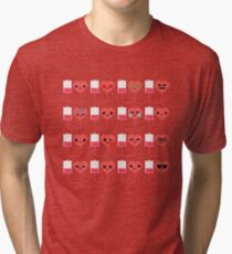 Blood Donation Emoji   Tri-blend T-Shirt