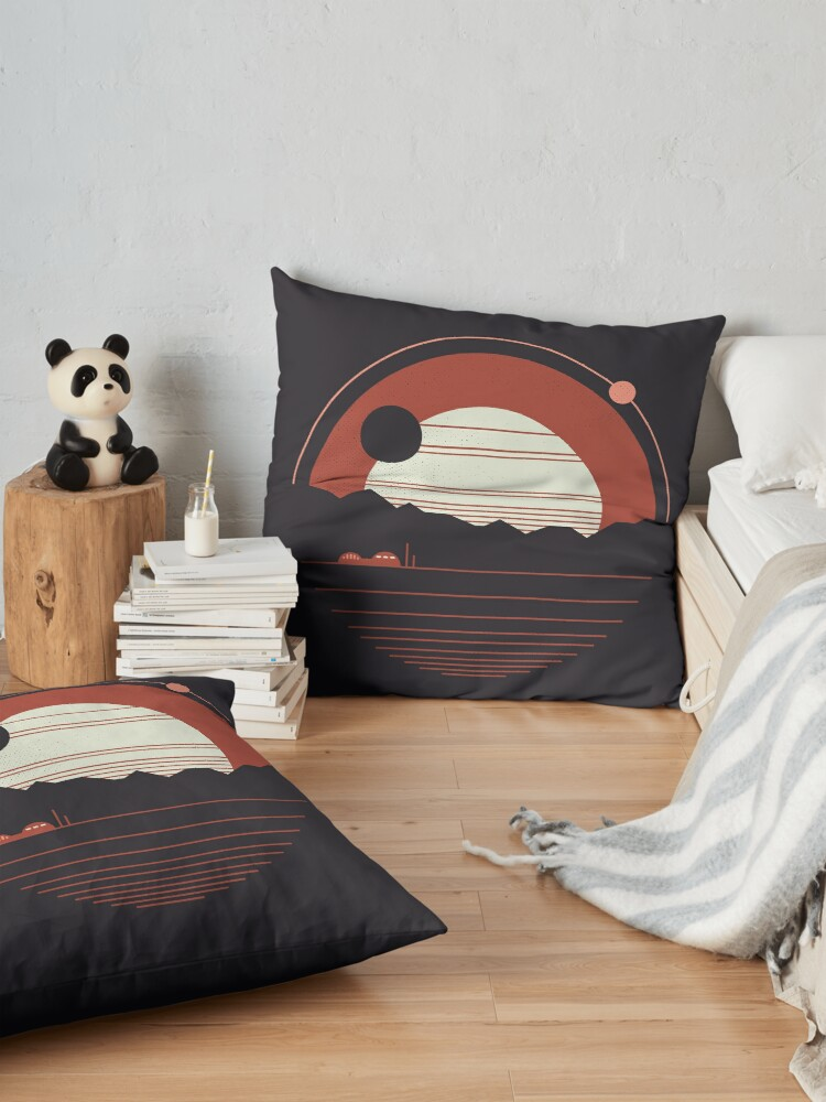 Alternate view of Solitude Floor Pillow