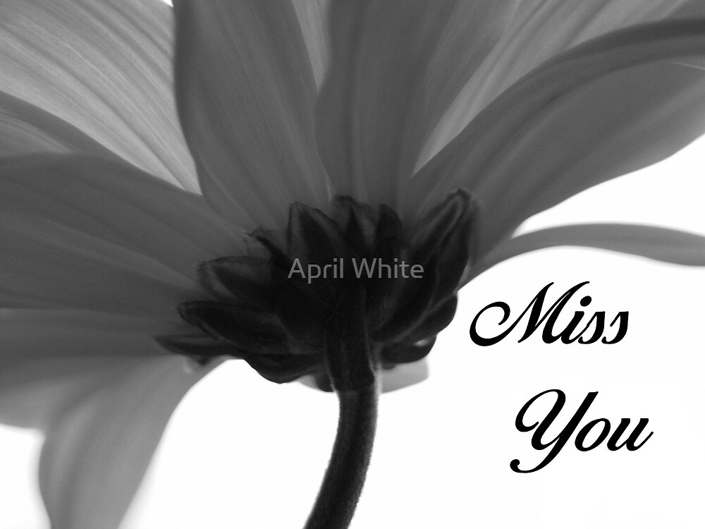 Miss You by April White