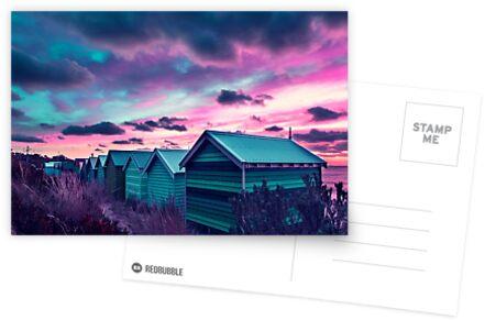 Brighton Beach Sunset von Ewan Arnolda