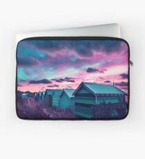 Brighton Beach Sunset Laptop Sleeve