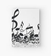 Cuaderno de tapa dura Notas musicales