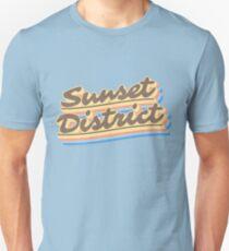 Sunset District | Retro Rainbow Unisex T-Shirt