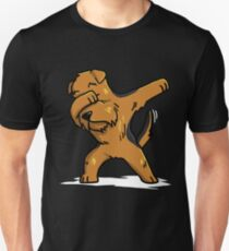 Funny Dabbing Airedale Terrier Unisex T-Shirt