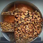 Wood Storage - Jack Rabbit Winery - Vic. Australia by EdsMum