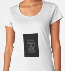 Vitruvian Prime inverted Women's Premium T-Shirt