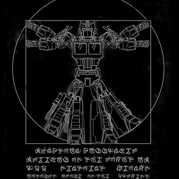 Vitruvian Prime inverted by fromthemindof