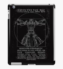Vitruvian Prime inverted iPad Case/Skin
