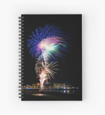 Flash of light  Spiral Notebook