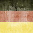 Grunge Flag Of Germany by Olga Altunina