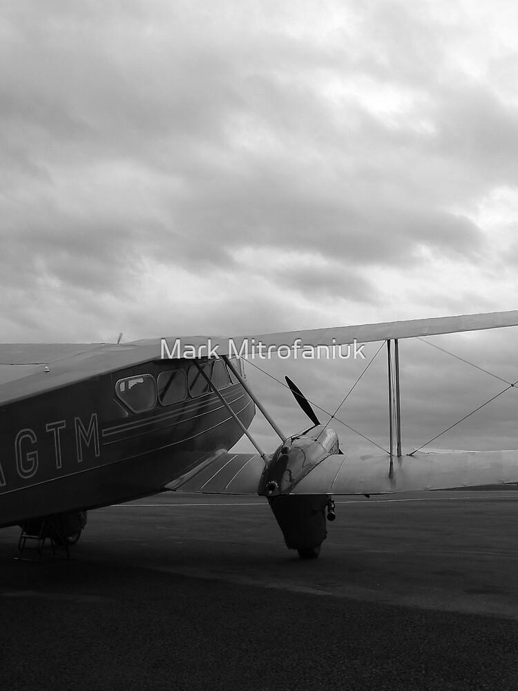 De Havilland DH-89 Dragon Rapide by Mark Mitrofaniuk