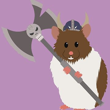 Fluffy Viking Hamster of Death by thechillmethod