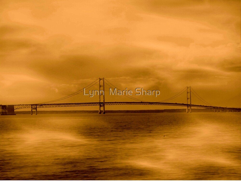 Mackinac Bridge ~ Michigan by Marie Sharp
