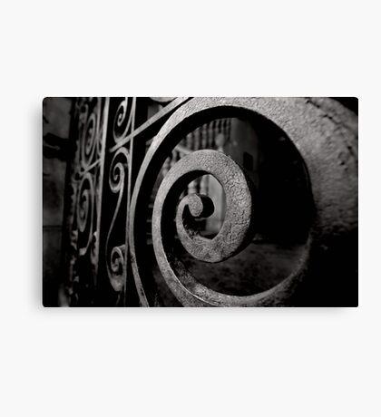 Iron Spiral Canvas Print