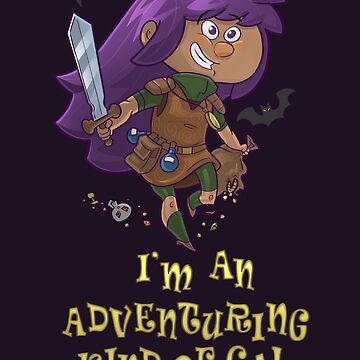 Adventure Gal by Queenmob
