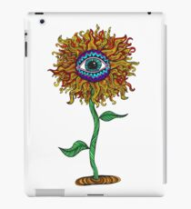 Psychedelic Sunflower - Exciting New Art - Doona is my favourite! iPad Case/Skin